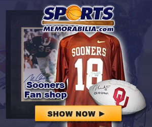 Shop for Authentic Autographed Sooners Collectibles at SportsMemorabilia.com