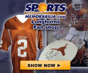 Shop for Authentic Autographed Longhorns Collectibles at SportsMemorabilia.com