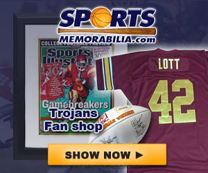 Shop for Authentic Autographed USC Collectibles at SportsMemorabilia.com