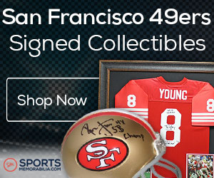 Shop for Authentic Autographed 49ers Collectibles at SportsMemorabilia.com