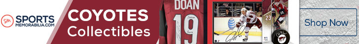 Shop for Authentic Autographed Coyotes Collectibles at SportsMemorabilia.com