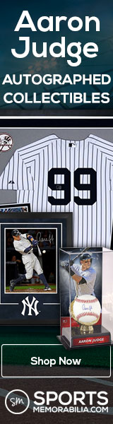 Shop for Autographed Aaron Judge Collectibles at SportsMemorabilia.com