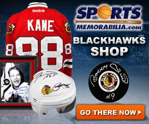 Shop for Authentic Autographed Blackhawks Collectibles at SportsMemorabilia.com