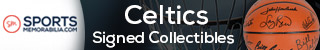 Shop for Authentic Autographed Celtics Collectibles at SportsMemorabilia.com