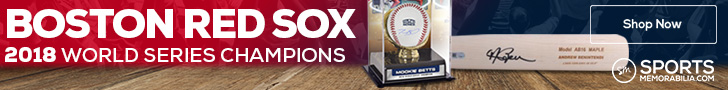 Shop for Boston Red Sox World Series Champs Collectibles at SportsMemorabilia.com