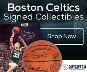 Shop for Authentic Autographed Celtics Collectibles at SportsMemorabilia.com