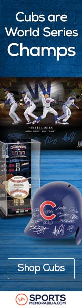 Shop for Chicago Cubs 2016 World Series Champs Collectibles at SportsMemorabilia.com