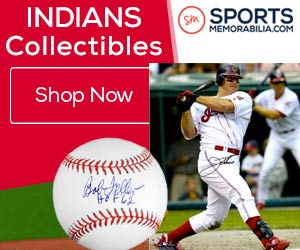 Shop for Authentic Autographed Cleveland Indians Collectibles at SportsMemorabilia.com