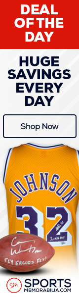 Save Huge on the Deal of the Day at SportsMemorabilia.com