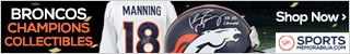 Shop for Authentic Denver Broncos Super Bowl 50 Champs Collectibles at SportsMemorabilia.com