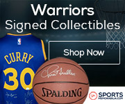 Shop for Authentic Autographed Warriors Collectibles at SportsMemorabilia.com