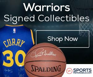 Shop for Authentic Autographed Warriors Collectibles at SportsMemorabilia.com
