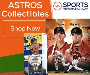 Shop for Authentic Autographed Houston Astros Collectibles at SportsMemorabilia.com