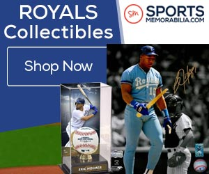 Shop for Authentic Autographed Kansas City Royals Collectibles at SportsMemorabilia.com