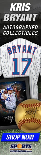Shop for Authentic Kris Bryant Collectibles and Memorabilia at SportsMemorabilia.com