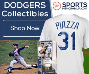 Shop for Authentic Autographed Los Angeles Dodgers Collectibles at SportsMemorabilia.com