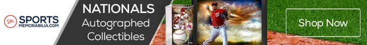 Shop for Authentic Autographed Nationals Collectibles at SportsMemorabilia.com