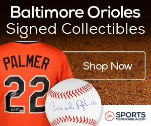 Shop for Authentic Autographed Orioles Collectibles at SportsMemorabilia.com