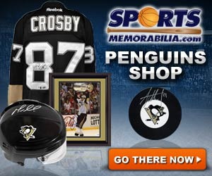 Shop for Authentic Autographed Penguins Collectibles at SportsMemorabilia.com