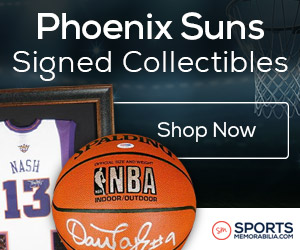 Shop for Authentic Autographed Phoenix Suns Collectibles at SportsMemorabilia.com