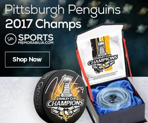 Shop for Pittsburgh Penguins 2016 Stanley Cup Champs Collectibles at SportsMemorabilia.com