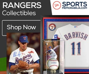 Shop for Authentic Autographed Rangers Collectibles at SportsMemorabilia.com