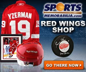 Shop for Authentic Autographed Red Wings Collectibles at SportsMemorabilia.com