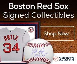 Shop for Authentic Autographed Red Sox Collectibles at SportsMemorabilia.com