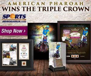 Shop for American Pharoah Triple Crown Collectibles & Memorabilia