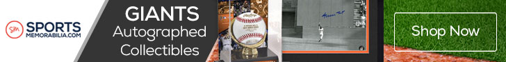 Shop for Authentic Autographed San Francisco Giants Collectibles at SportsMemorabilia.com