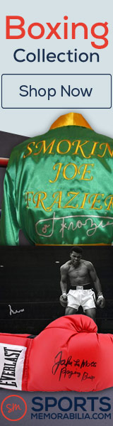 Shop for Thousands of Authentic Autographed Boxing Collectibles at SportsMemorabilia.com