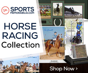 Shop for Hundreds of Authentic Autographed Horse Racing Collectibles at SportsMemorabilia.com