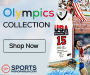 Shop for Thousands of Authentic Autographed Olympics Collectibles at SportsMemorabilia.com