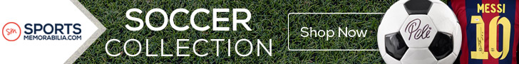 Shop for Thousands of Authentic Autographed Soccer Collectibles at SportsMemorabilia.com