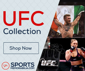 Shop for Thousands of Authentic Autographed UFC Collectibles at SportsMemorabilia.com