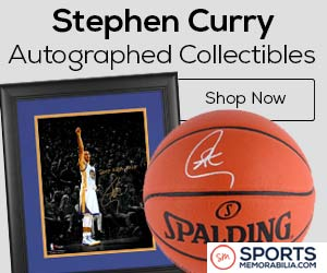 Shop for Authentic Steph Curry Collectibles and Memorabilia at SportsMemorabilia.com