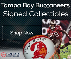 Shop for Authentic Autographed Buccaneers Collectibles at SportsMemorabilia.com