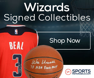 Shop for Authentic Autographed Washington Wizards Collectibles at SportsMemorabilia.com