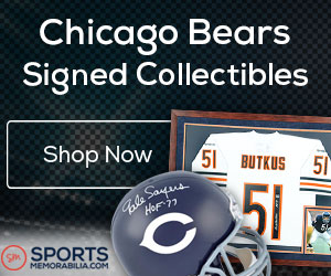 Shop for Authentic Autographed Bears Collectibles at SportsMemorabilia.com