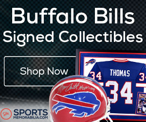 Shop for Authentic Autographed Bills Collectibles at SportsMemorabilia.com