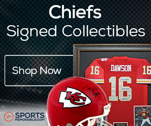 Shop for Authentic Autographed Chiefs Collectibles at SportsMemorabilia.com