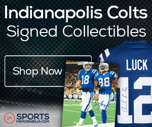 Shop for Authentic Autographed Colts Collectibles at SportsMemorabilia.com