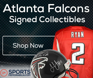 Shop for Authentic Autographed Falcons Collectibles at SportsMemorabilia.com