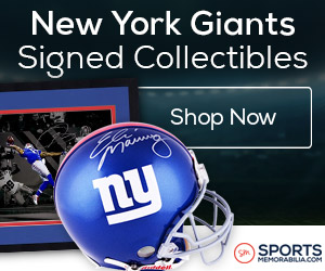 Shop for Authentic Autographed Giants Collectibles at SportsMemorabilia.com