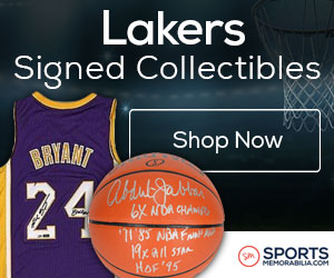 Shop for Authentic Autographed Lakers Collectibles at SportsMemorabilia.com