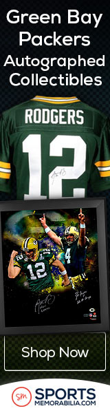Shop for Authentic Autographed Packers Collectibles at SportsMemorabilia.com