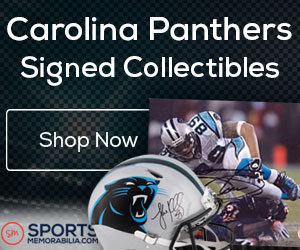 Shop for Authentic Autographed Panthers Collectibles at SportsMemorabilia.com