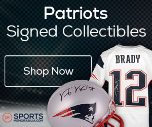 Shop for Authentic Autographed Patriots Collectibles at SportsMemorabilia.com