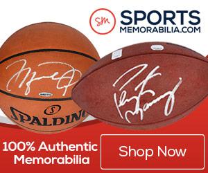 SportsMemorabilia 50% Off Framed Photos
