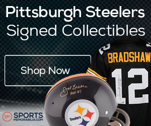 Shop for Authentic Autographed Steelers Collectibles at SportsMemorabilia.com